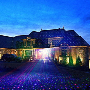 Image 5 - RGB shower outdoor Move Stars Laser lamp Remote Christmas lights Garden Waterproof IP65 Xmas Holiday Decoration For Home