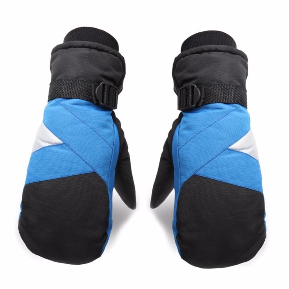 Winter Outdoor Warm Skiing Gloves Snowboard Snowmobile Motorcycle Riding Mountain Windproof Waterproof Men Full Finger Gloves