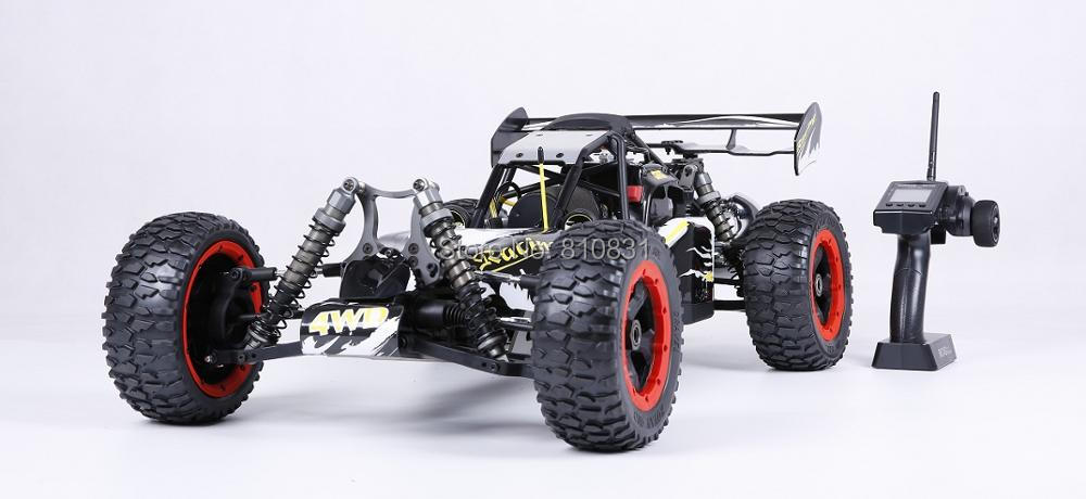 Rovan Racing 1/5 Rc Car 4WD BAJA Buggy 30.5CC 4 Bolts Motor Walbr Carburetor Ngk Spark Plug rovan gas baja 30 5cc 4 bolt chrome engine with walbro carb and ngk spark plug for 1 5 scale hpi km losi rc car parts