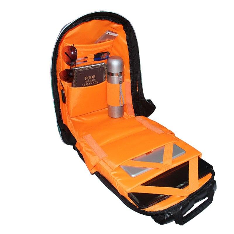 Анти ұрлық ноутбук баспа рюкзаты - Спорттық сөмкелер - фото 5