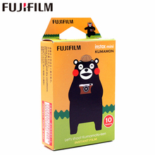 лучшая цена Fujifilm 10 sheets Instax Mini KUMAMON kumamoto bear Instant Film photo paper for Instax Mini 8 7s 25 50s 90 9 SP-1 SP-2 Camera