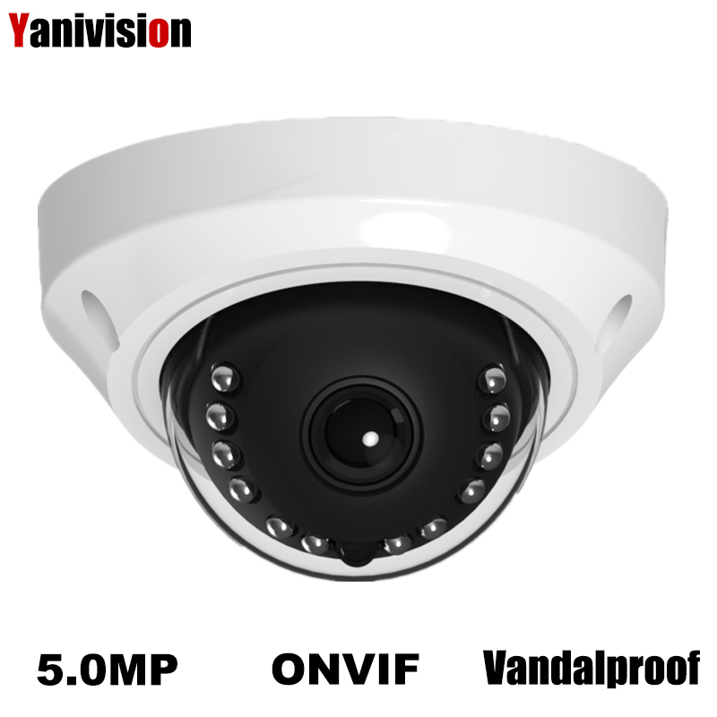 H.265 5MP 2592*1944 4MP IP Camera Surveillance Video Vandalproof IR Dome Camera CCTV H.265 Motion Detection RTSP 48V POE 2MP P2P techage h 265 4mp 2592 1520 vandalproof anti vandal poe ip camera indoor outdoor metal case ip66 onvif p2p dome cctv hd camera