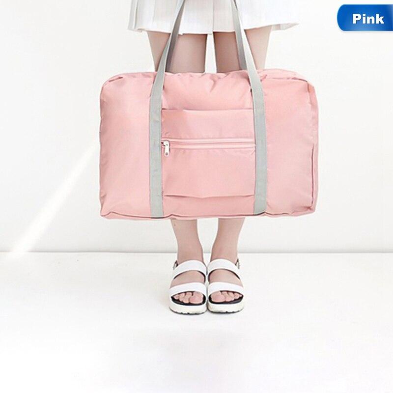 Handbag Gym-Bags Storage Fitness Training Travel Outdoor Portable Women Folding Large-Capacity