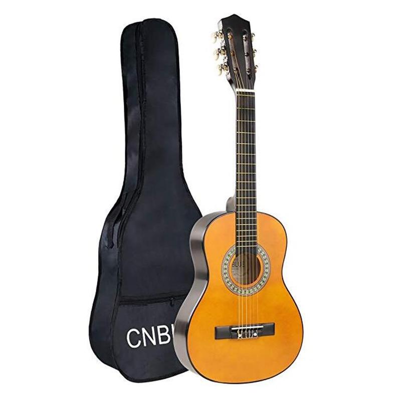 Enfant débutant guitare guitare classique guitare acoustique 1/2 demi-taille 30 pouces Nylon cordes Kits de démarrage garçon fille guitare