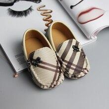 Детские кожаные мокасины; сезон весна-осень; обувь для малышей 1-2-3; тонкие туфли с мягкой подошвой