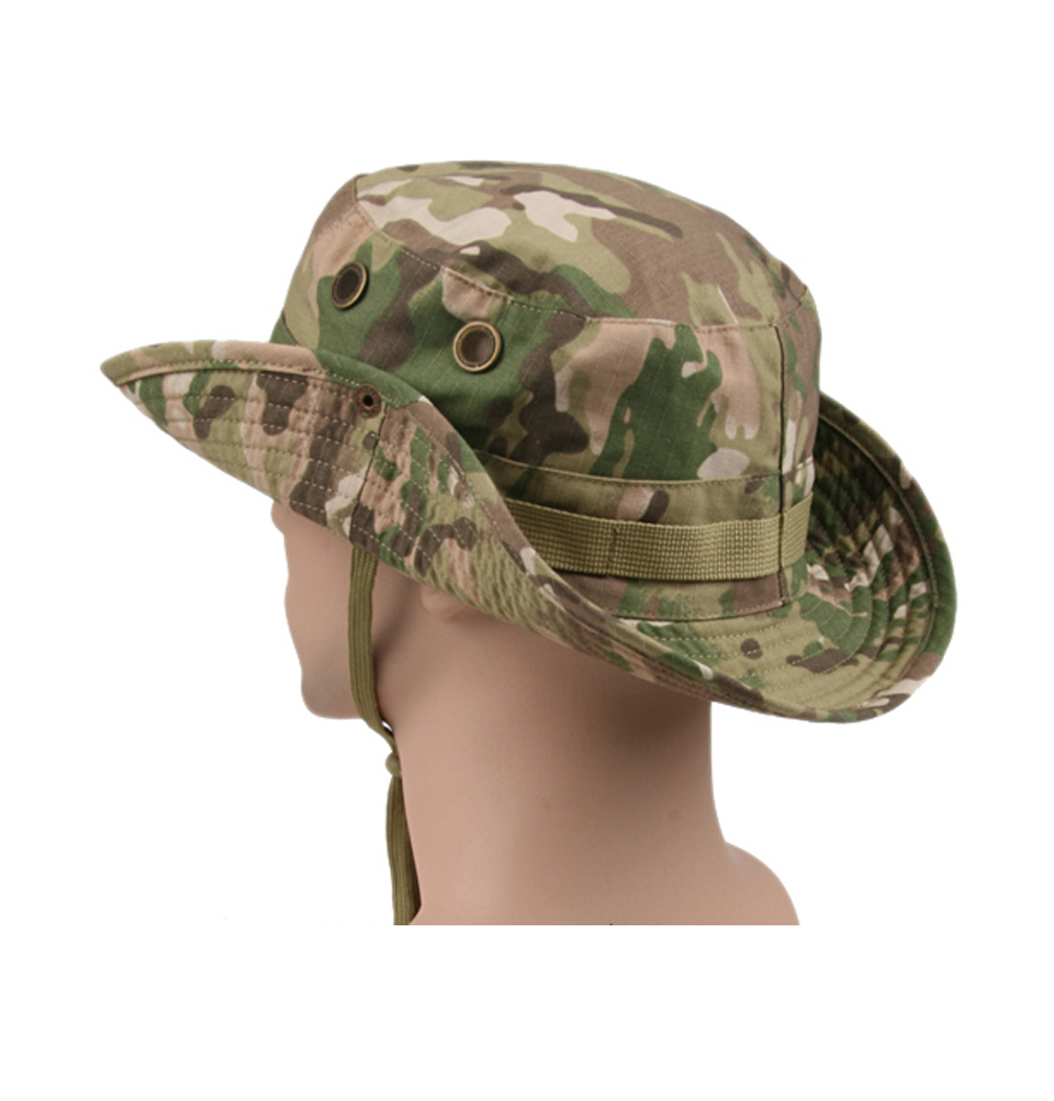 HTB1klcBX6nD8KJjSspbq6zbEXXa1 - Multicam Tactical Airsoft Sniper Camouflage Bucket Boonie Hats Nepalese Cap SWAT Army Panama Military Accessories Summer Men