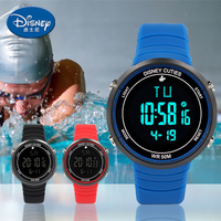 DisneyTop LED Digital Children Watch Kids Watches Girls Boys Clock Child Sport Wrist Watch Electronic For