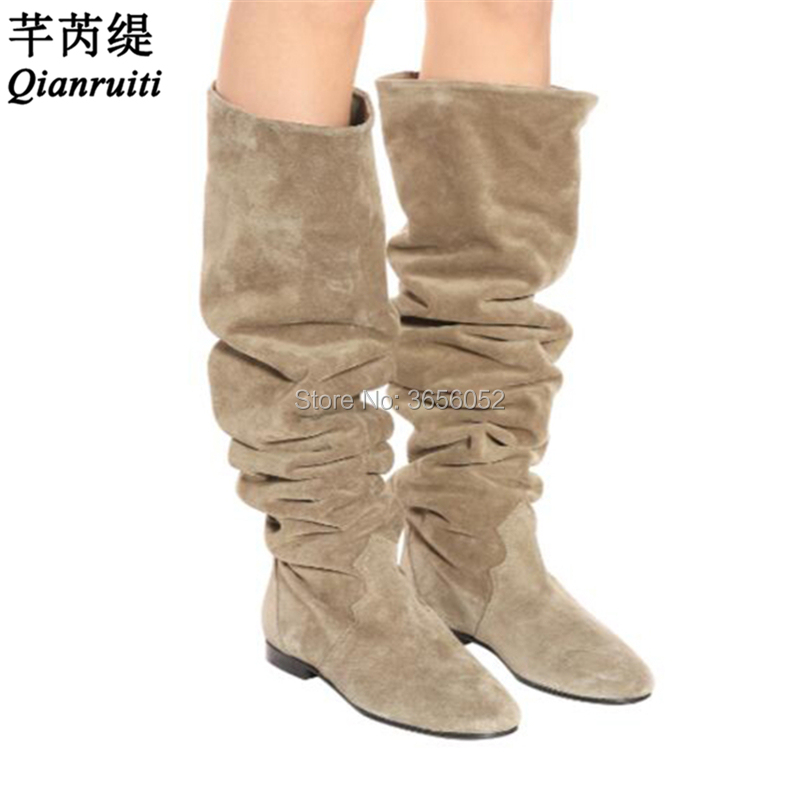 5487f3d9f1d0 Buy suede booties flat and get free shipping on AliExpress.com