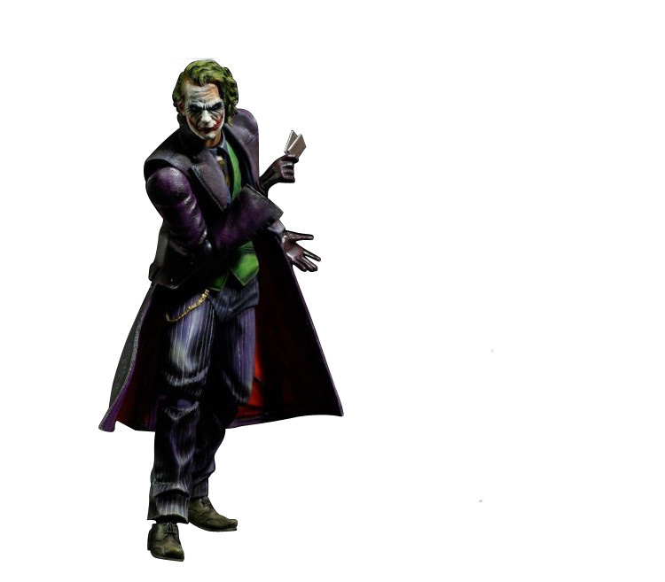 Tobyfancy Play Arts Kai Joker Batman : The Dark Knight Rises PVC Action Figure Joker PA Kai Collection Model Toy batman joker action figure play arts kai 260mm anime model toys batman playarts joker figure toy
