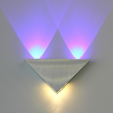 Triangle Wall Sconce Led Indoor Wall Lamps Modern Led Wall Lamp Light With 3 Lights For Home Aluminium Acrylic Free Shipping Led Lamps