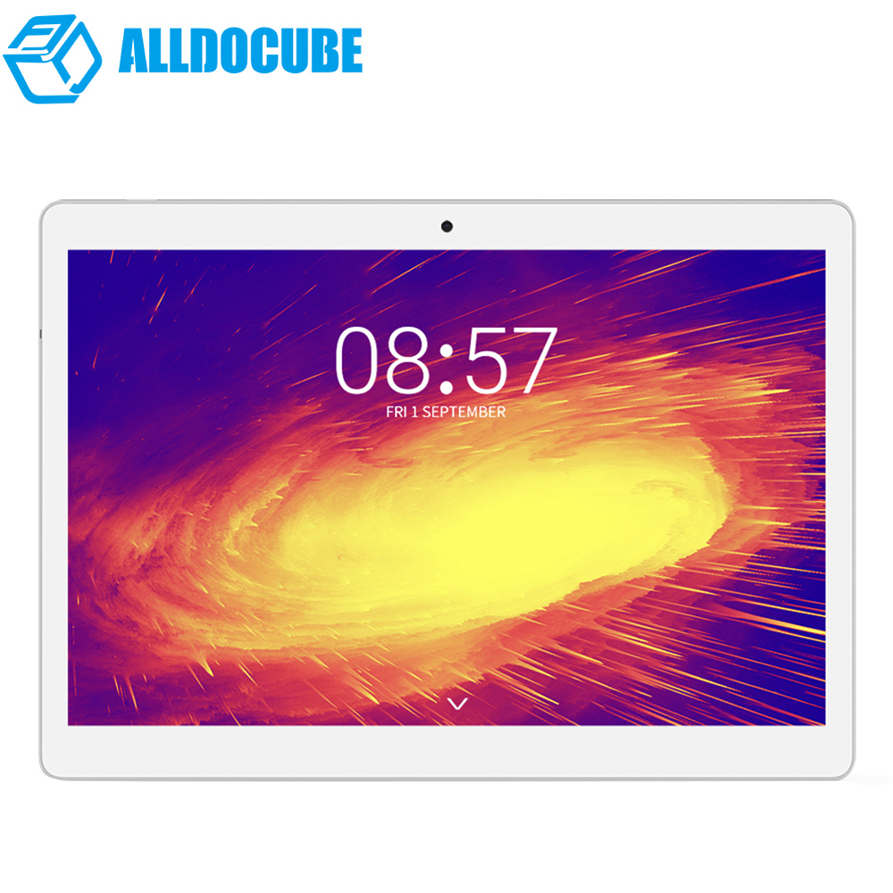 NEW ALLDOCUBE M5 4G Phablet 10.1'' Android 8.0 MTK X20 Deca Core 4GB+64GB 5MP Dual WiFi Double Cameras Bluetooth 4.2 Tablets PC