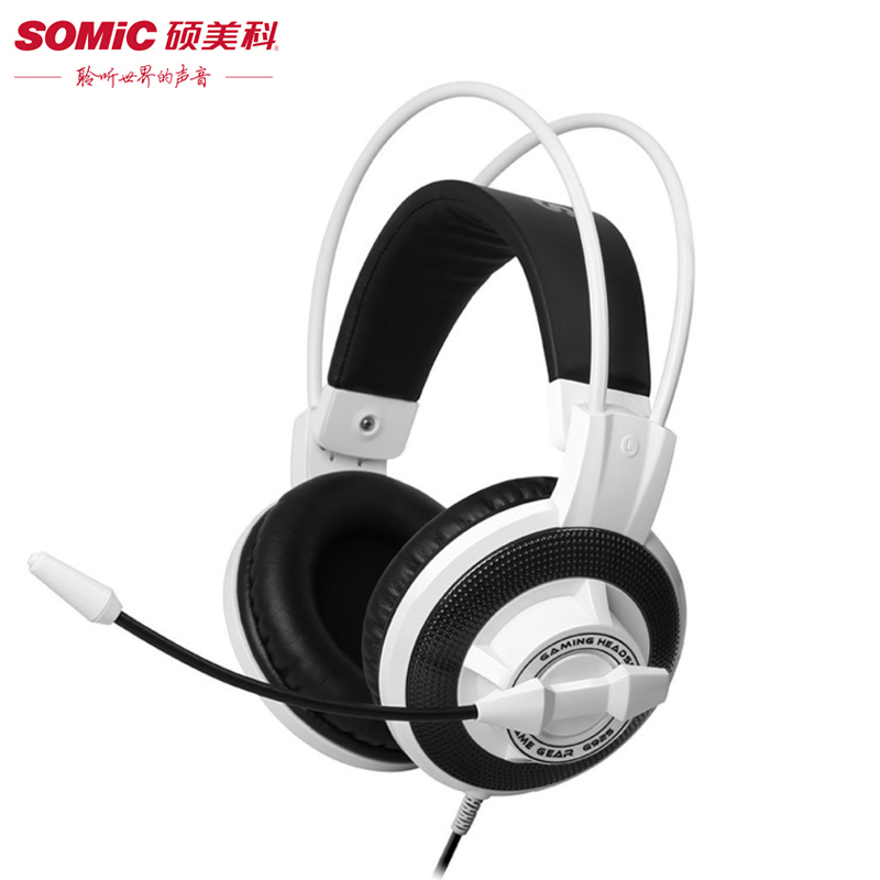 Somic G925 3.5mm Plug Gaming Headset Computer Game Stereo Headphones With Microphone Volume Control for PC Gamer casque 3 5mm universal gaming over ear headset earphones computer game headphones with microphone for gamer stereo bass for computer pc