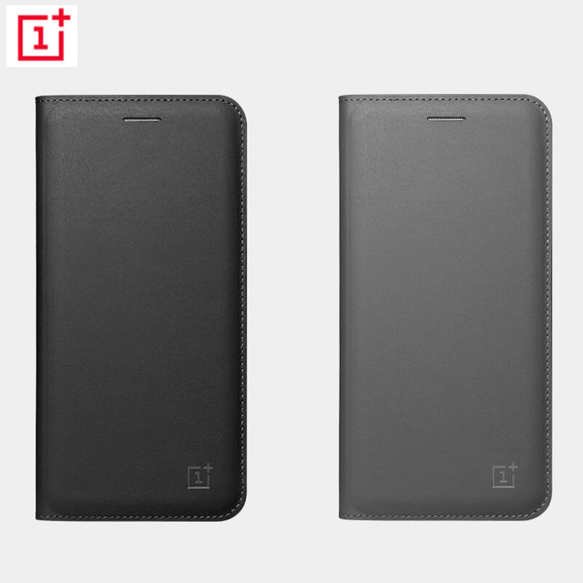 f4fe3cf8e20 Original Official OnePlus 5 5T 6 Flip Cover Smart Leather Cover with Sleep  Wake Up Card