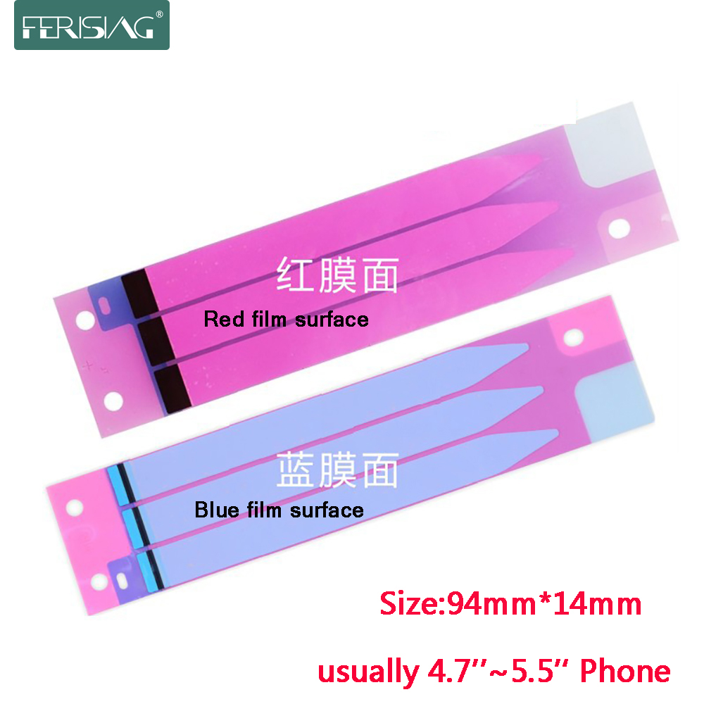 For iPhone 7 8 Plus X 5s 6 6s Plus Battery Adhesive Sticker Glue Tape Double-Sided Phone Battery Replace Strip For Xiaomi Sony