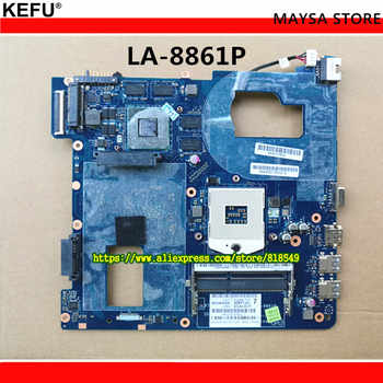 Fit For Samsung NP350 NP350V5C 350V5X Laptop motherboard QCLA4 LA-8861P BA59-03541A BA59-03397A DDR3 HD 7600M GPU 100%test - DISCOUNT ITEM  0% OFF All Category