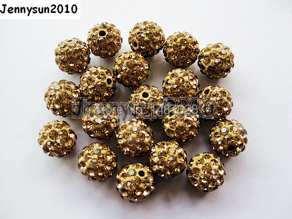 Jewelry & Accessories Hearty 6mm Smoked Topas Top Quality Czech Crystal Rhinestones Pave Clay Round Disco Ball Spacer Beads For Jewelry 100pcs Pack