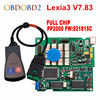 Newest Diagbox V7 83 Lexia3 PP2000 Firmware 921815C Lexia 3 For Citroen For Peugeot Car Diagnostic