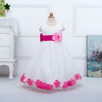 2015 Hot Sale High Quality Simple And Beautiful Summer Children Clothes Fashion Print Girl Dresses 3T