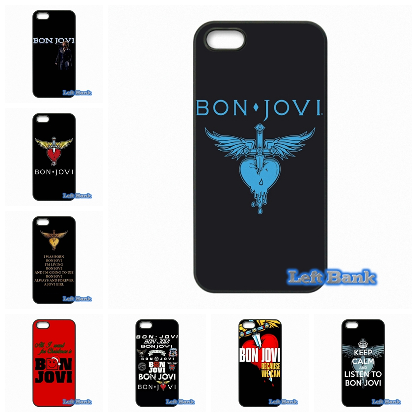 bon jovi logo heart Phone Cases Cover For Apple iPhone 4 4S 5 5C SE 6 6S 7 Plus 4.7 5.5 iPod Touch 4 5 6