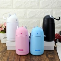 330ML Cute Cat Stainless Steel Thermos Vacuum Flask Portable Water Bottle For Children Leak Proof Insulated