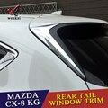ABS аксессуары для Mazda  спойлер на заднее стекло  треугольная лепка  2 шт./компл.  CX8 кг  2017  2018  2019
