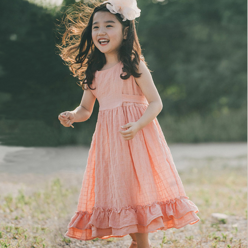 baby girls dress 2018 summer little girls dresses cotton clothes big girl princess dress teenagers party dresses kids clothing easter gift summer new style cheongsams for little girls chinese dress for children tang suit baby girl princess dresses clothes