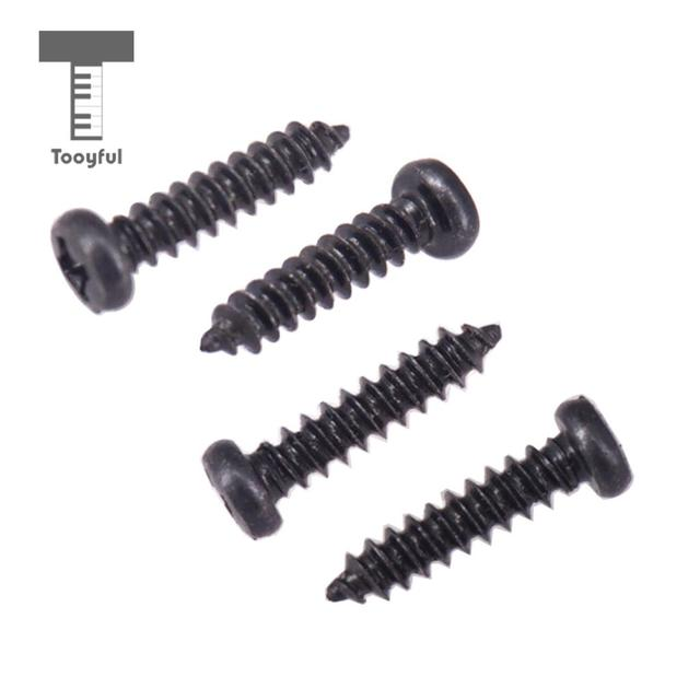 pack of 50 tuning peg tuning key mounting screws for electric acoustic guitar bass 11 x. Black Bedroom Furniture Sets. Home Design Ideas