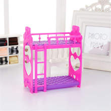 Original Baby Doll Accessories bed set for lols Big Sister Dolls Birthday Gift toy Suitable 3.5 inch 12cm doll