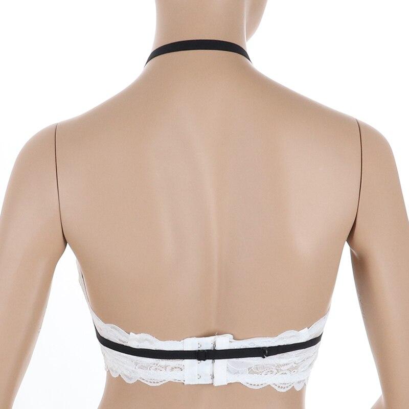 Body Cage Bra Lingerie Push Up Top Underwear Garter Belt Sexy Body Harness Bra Harajuku Goth Femme Accessory Fashion Women in Garters from Underwear Sleepwears