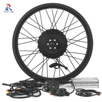 48V 500W Fat Bike Electric Rear Motor Wheel Motor Kit DC Brushless Hub Motor Snowmobile E Bike Controller Engine Motor 26 28inc