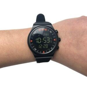 Image 2 - 1 sztuk/partia muzułmański automatyczny Fajr zegarek z budzikiem HA 6506