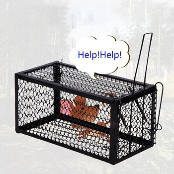 Rat Cage Mice Loài Gặm Nhấm Động Vật Điều Khiển Catch Bait Hamster Chuột bẫy Humane Sống Trang Chủ Chất Lượng Cao Kẻ Giết Chuột Cage Home vườn