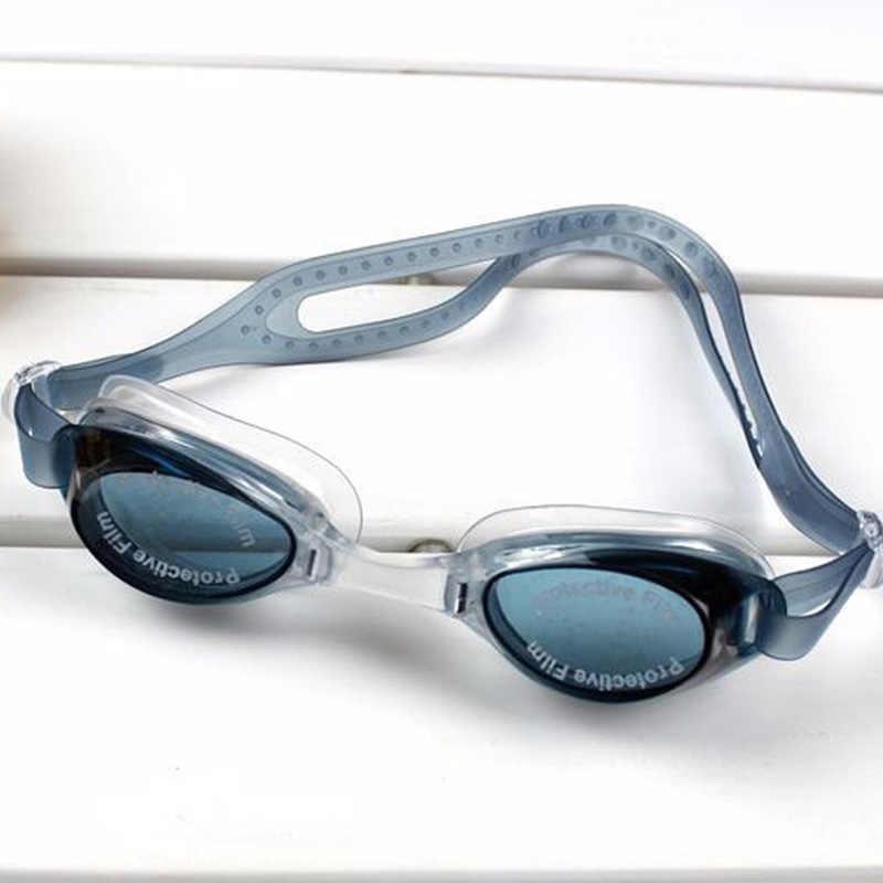 2bd80a44029 ... swimming goggles boys girls kids swimming pool for children glasses  black blue sky blue pink swim ...