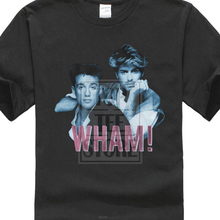 Official Mens Wham New T Shirt Blue Pink Nwt 100% Black Cotton Sizes Sm 4Xl цена