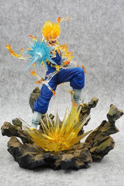 Dragon Ball Z DBZ Figuarts Zero Super Saiyan Vegetto PVC Action Figure Dragonball Toys Gifts no retail box (Chinese Version) 3