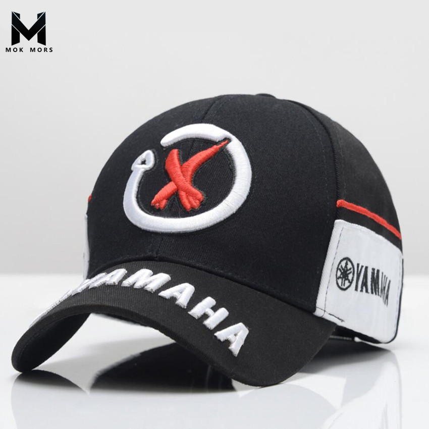 2018 New Arrival High Quality Snapback cap Brand Baseball Cap 2 color YAMAHA 3D Embroidery Hat For Mens Women boy Motorcycle Cap