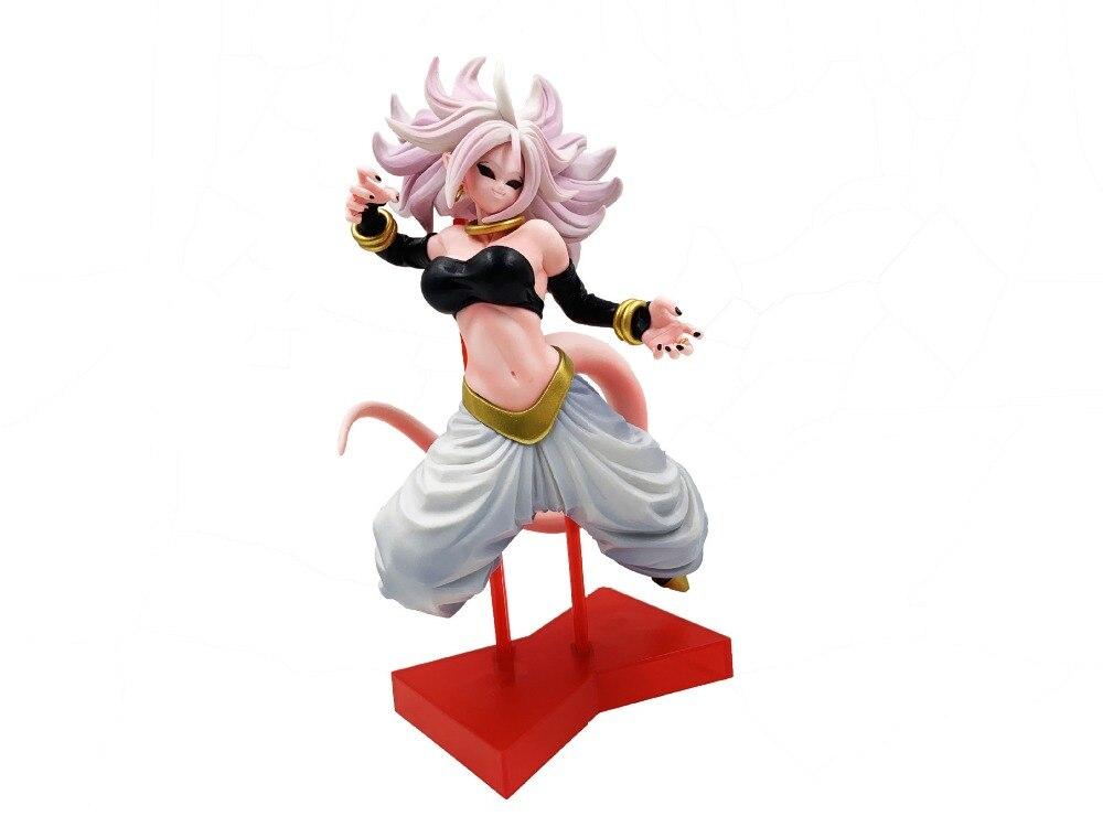 Figura Acción Dragon Ball Z Buu Mujer 21cm Con Caja Regalo Juguete Fan