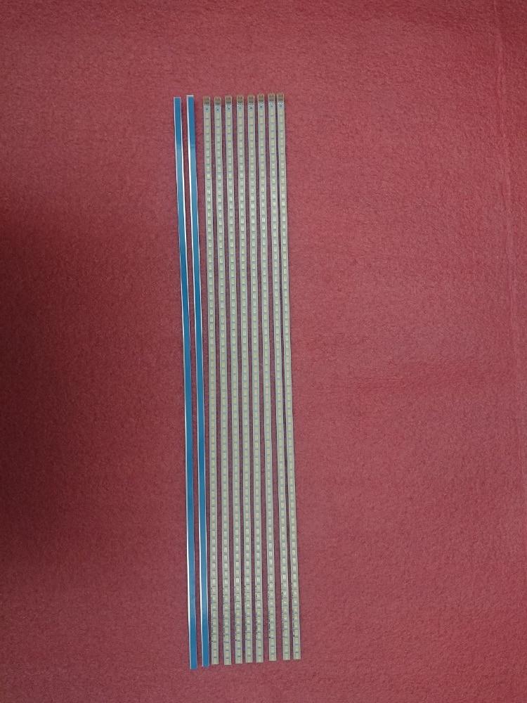New10 Pieces/lot 72 LEDs 520MM LED Backlight Strip For 46-DOWN LJ64-03035A SLED 2011SGS46 5630 72 LTA460HJ15 46SL412U 46FT5453