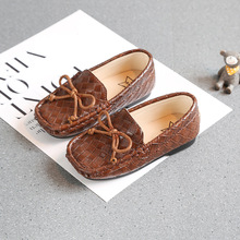 New 2019 Retro Small Kids Shoes Boys Girls Casual Soft Sole Slip On Moccasins Baby Flat Children Pu Leather