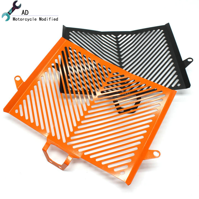 Orange Black Motocross For KTM Duke 1050 1190 1290 Super Adventure Radiator Guard Grille Protector Cover Motorcycle Accessories universal motorcycle accessories gear shifter shoe case cover protector for ktm duke 125 200 390 690 990 350 1290 adventure exc