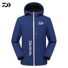 1604e4c4c 2019 DAIWA pesca chaqueta al aire libre de lana de invierno de otoño cálido  senderismo pesca hombres ropa con capucha suave de g.