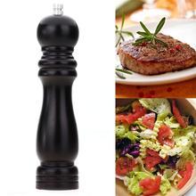 """8 """"Holz Pfeffer Salz Gewürzmühle Grinder Schleifen Tragbare Küche Gadget"""