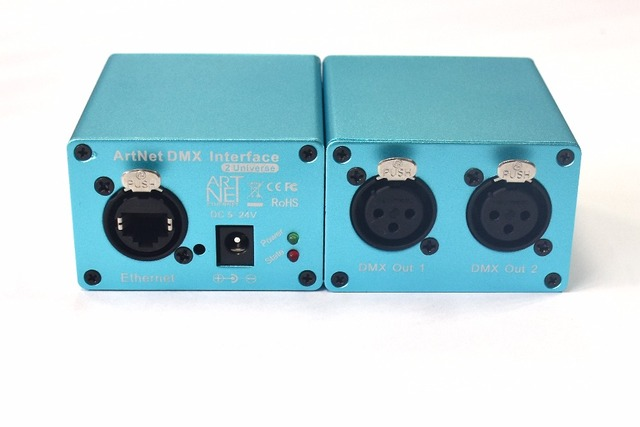 2 Universe ArtNet DMX LED Controller