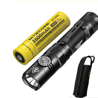 NITECORE EC22 New Flashlight XP L HD V6 LED max. 1000lm beam distance 180m tacitcal light infinitely variable brightness torch