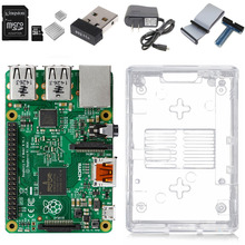 Raspberry Pi 3 Model B Complete Starter Kit — Raspberry Pi 3 Model B / transparent case / 2.5A Power supply / Wifi Adapter