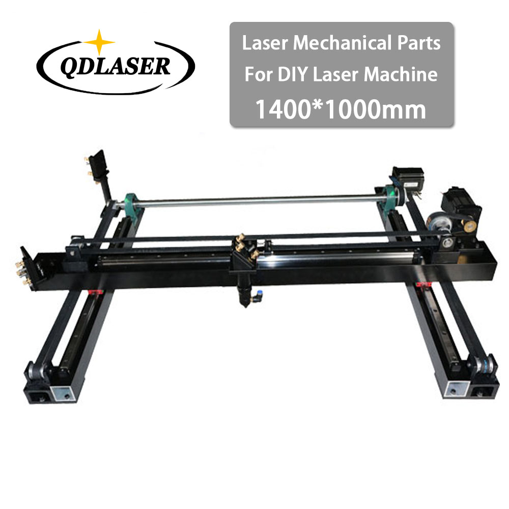 Whole Set Co2 Laser Mechanical Parts 1400*1000mm for DIY 1410 CO2 Laser Engraving Cutting Machine Laser Spare Parts Kit mechanical parts set 400mm 600mm single head laser kits spare parts for diy co2 laser 6040 co2 laser engraving cutting machine