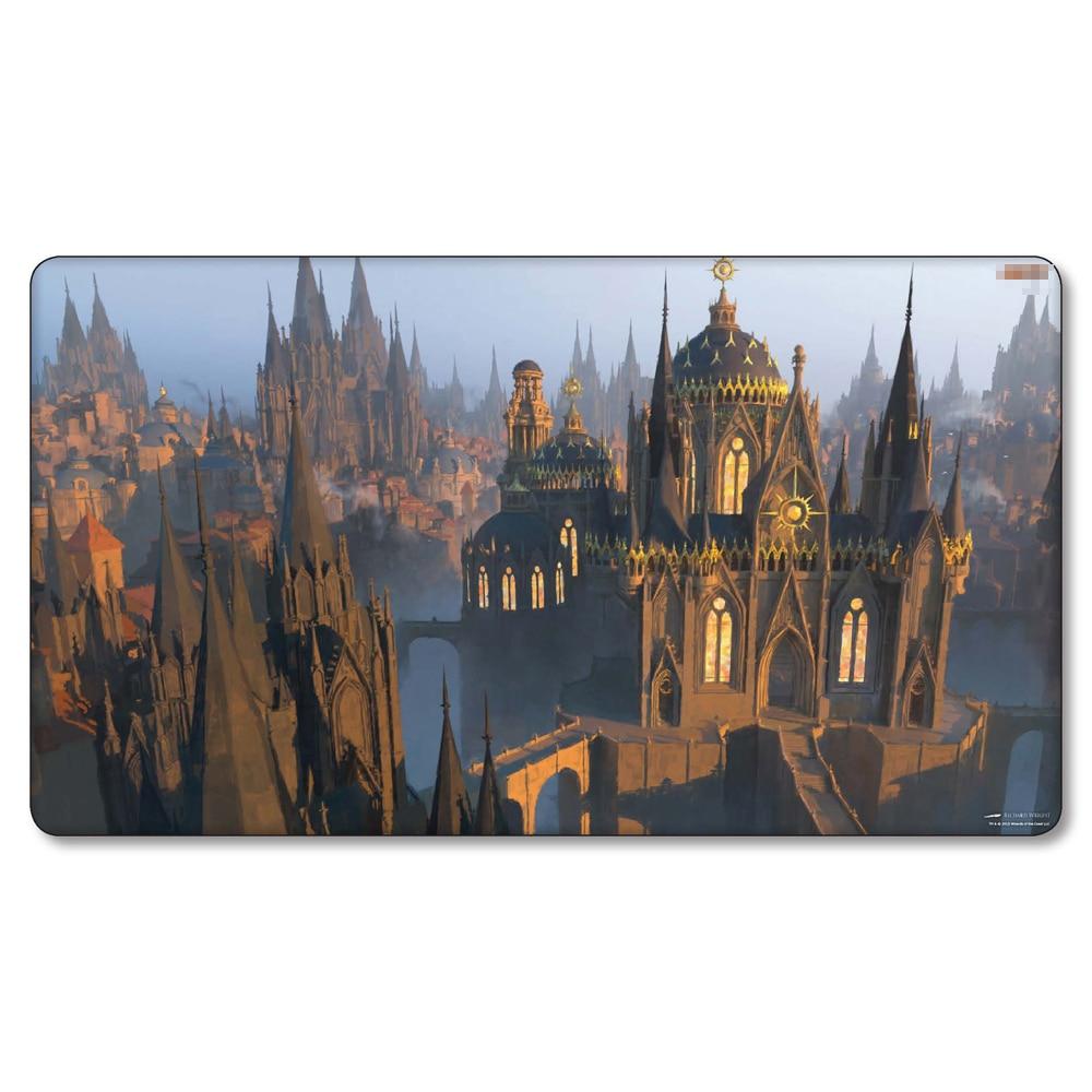 (Rogues Passage) Many Choice Magic Game Custom Playmat,Board Games MGT Play Mat,Custom Gather Big Mousepad Free Bag
