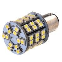 10X T25 BAY15D 1157 Pure White 60 SMD Led-achterlicht Stop Brake Turn Licht Lamp
