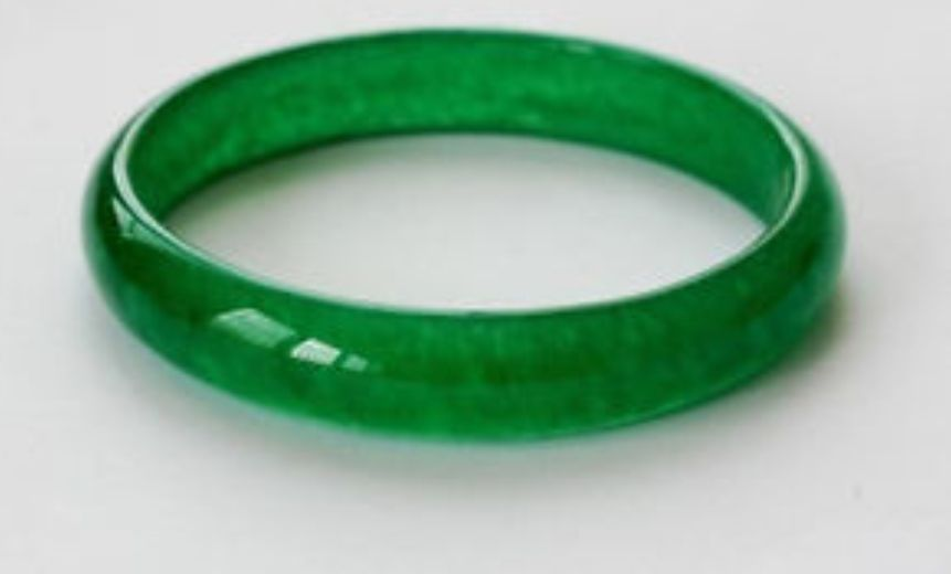 Chinese Real Green Jade Bangle Bracelet Diameter Of 60mm In Bangles From Jewelry Accessories On Aliexpress Alibaba Group