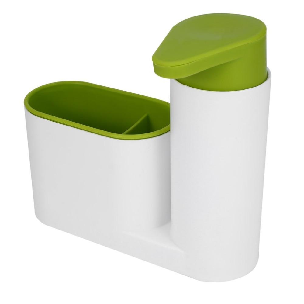 Portable Home Bathroom Plastic Shampoo Soap Dispenser Practical Liquid Soap Shampoo Shower Gel Container Holder